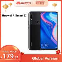 Version mondiale Huawei P Smart Z 4GB 64GB Kirin 710F Octa core Smartphone Auto Pop Up caméra frontale 6.59 ''Support de téléphone portable NFC