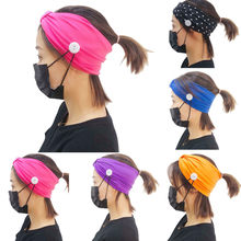 Hair Accessories for Women Solid Elastic Head Wrap Hair Band Bandana Headbands for Women Opaska do Wlosow резинки для волос(China)