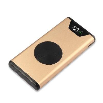 Qi Sem Fio Power Bank 10000mah para O Iphone X Xs MAX XR 8 Powerbank Carregador Sem Fio para Samsung S8 S9 nota 9 8 Carregador Rápido