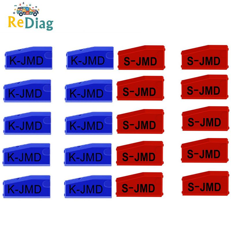 Original JMD King Chip JMD Handy Baby Key Copier JMD Chip for CBAY Super Red Blue Chip JMD 46 48 4C 4D G Chip On Sale