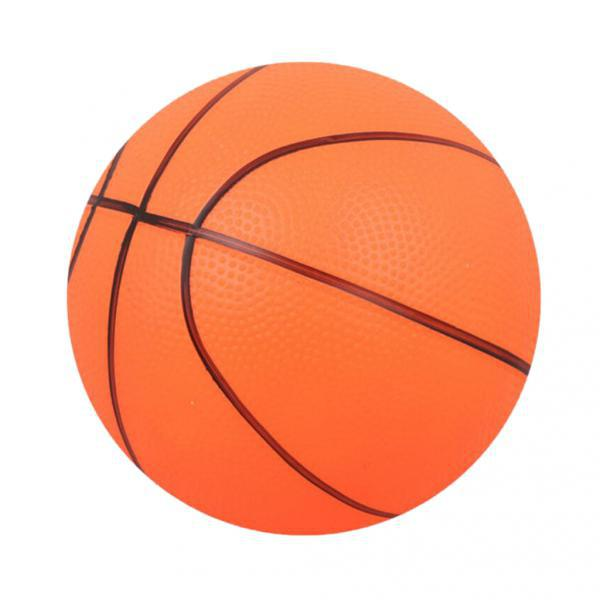 2pcs Perfect Mini Basketball For Kids Outdoor Sports Toy Gift For Children Orange PVC