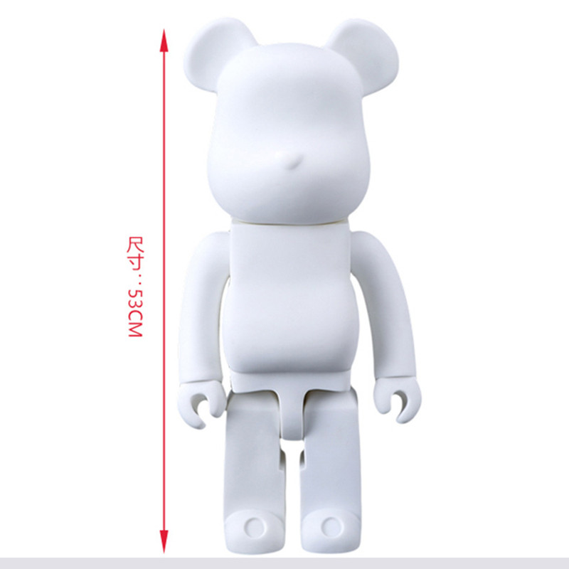 New Hot 21inch 52cm 700/% Bearbrick Be@rbrick DIY Fashion Toy PVC Action Figure