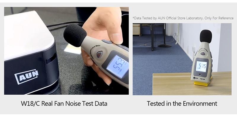 w18噪音测试