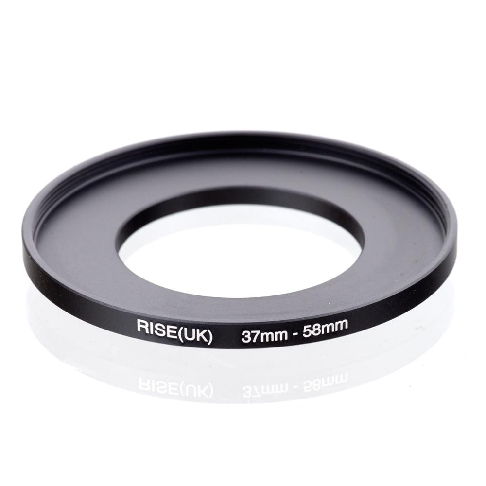 RISE(UK) 37mm-58mm 37-58 Mm 37 To 58 Step Up Filter Ring Adapter