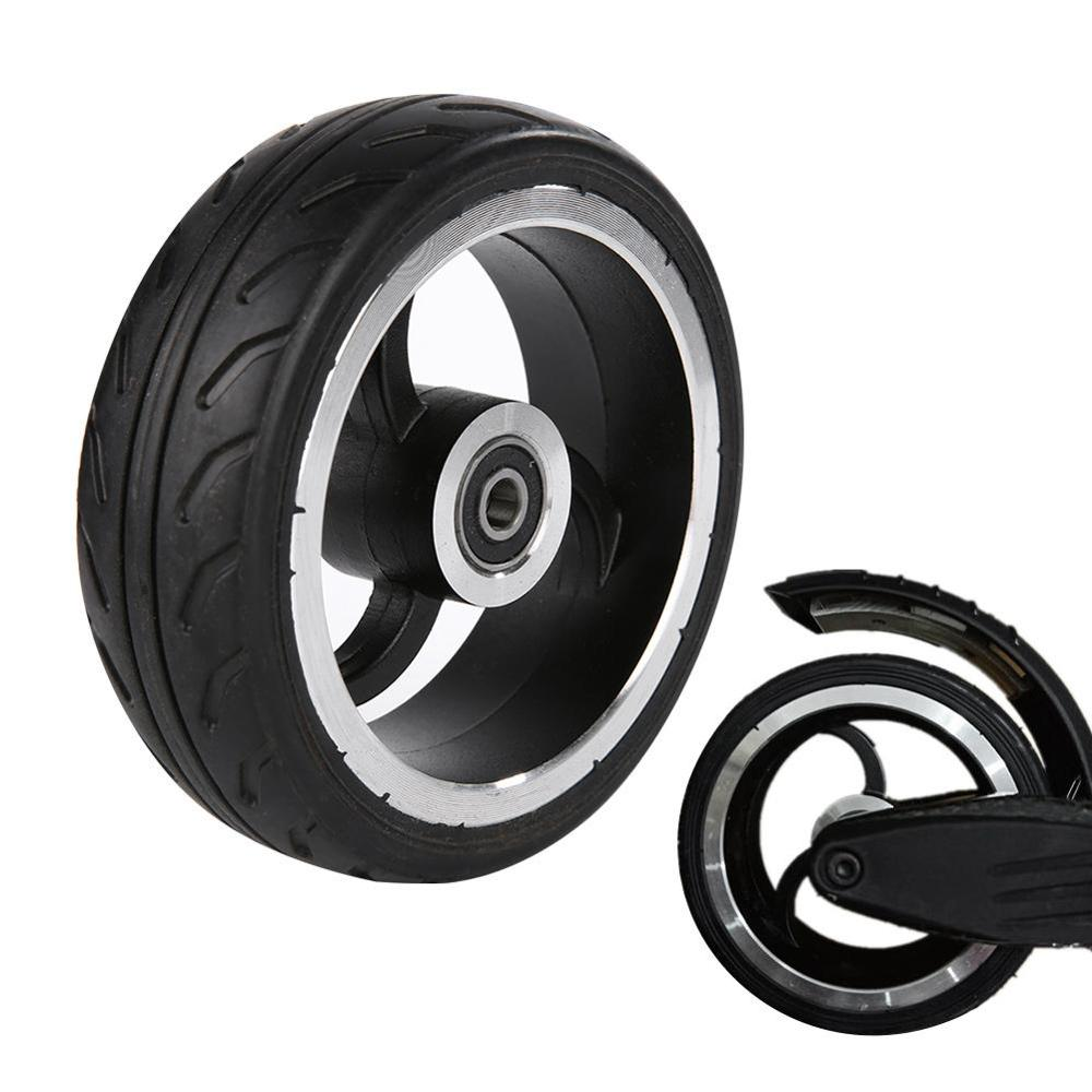 High Quality 5.5 Inch Scooter Wheel PU Tire Aluminum Alloy Rubber For Wheelchair Rear Wheel