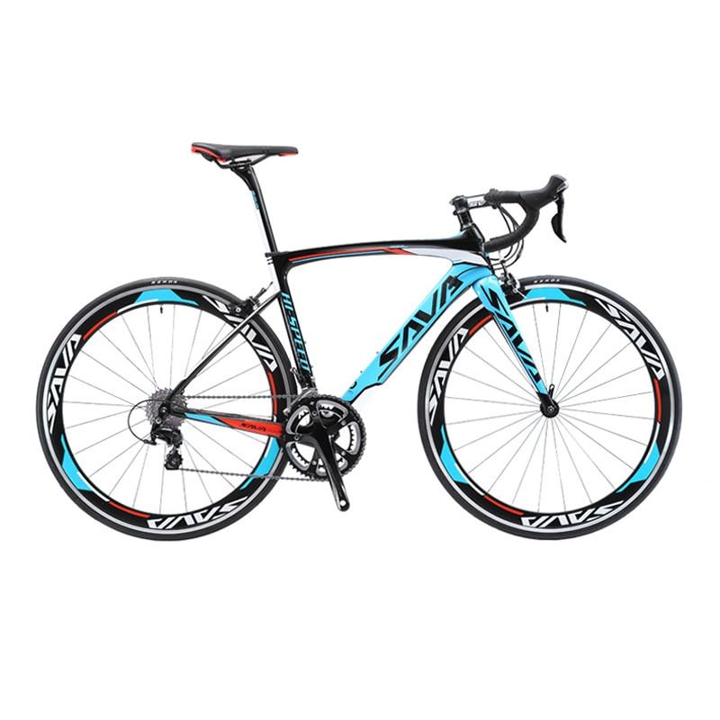 SAVA Road Bike 700c Carbon Road Bike Speed Carbon Road Bicycle Carbon Bike with SHIMANO 105 Innrech Market.com