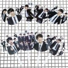 8 шт./лот KPOP idol Мальчики Вентилятор V RM JUNGKOOK Jimin SUGA JIN J-HOPE портативный ручной вентилятор вечерние принадлежности для подарка