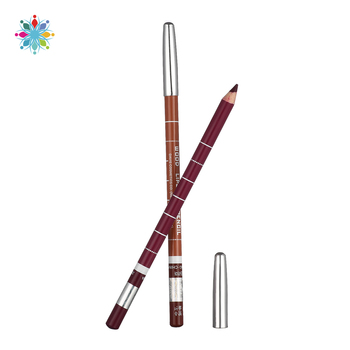12pcs/set 12 Color Cosmetics Makeup Pen Waterproof Eyebrow Eye Liner Lip Eyeliner Pencil