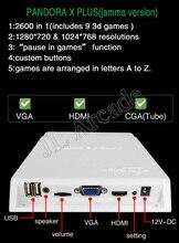 5 sztuk pudełko do gry 5s wersja 2600 CGA wyjście VGA zręcznościowa deska Mutligames pandora Jamma Jamma Mutli gra planszowa Jamma gra zręcznościowa