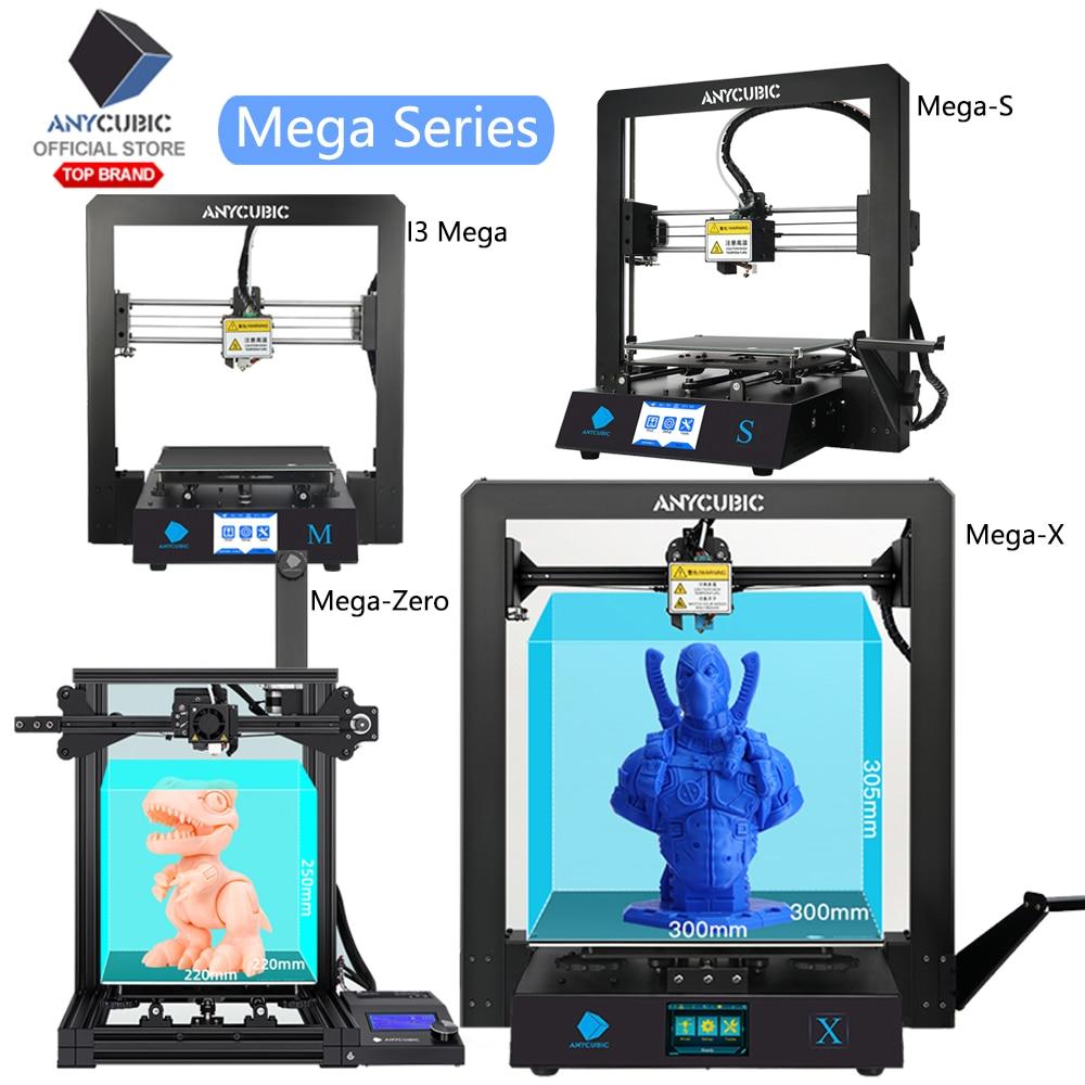 "ANYCUBIC I3 Mega 3D Printer Kit All Metal Frame Ultrabase Heated V5 3.5/"" TFT PLA"