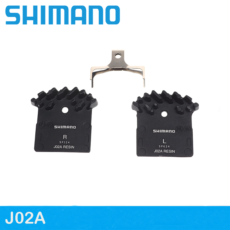 <font><b>Shimano</b></font> J02A Resin ICE Bicycle <font><b>Brake</b></font> Pad for BR-M6000 <font><b>M7000</b></font> M8000 M9000 M9020 DEORE XT <font><b>SLX</b></font> ALFINE Mtb Mountain Bike <font><b>Brake</b></font> Pads image