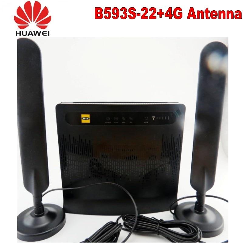 Routeur sans fil Lte FDD 4g huawei b593, antenne VPN huawei b593s-22 + 4G