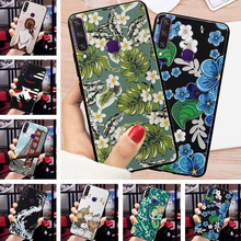 For TECNO Spark 4 Case 3D Relief Emboss Flower Phone Camon 12 Camon12 Air Cover Cases Spark4 capa