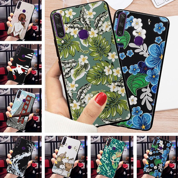 For TECNO Spark 4 Case 3D Relief Emboss Flower Phone Case For TECNO Camon 12 Pro Camon12 Air Cover Cases For TECNO Spark4 capa недорого