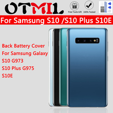 Back Battery Cover S10 G973 S10 Plus G975 S10E For Samsung Galaxy S 10 G973 S10 Plus G975 S10E Back Rear Glass Case For Samsung cool sports car tempered glass case for samsung galaxy s10 s10e s9 s8 s10 plus note 9 a50 a30 phone cover shell