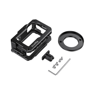 Image 4 - SmallRig Vlog Cage for DJI Osmo Action (Compatible w/ Microphone Adapter) Compatible w/ the CYNOVA Dual 3.5mm USB C Adapter 2475