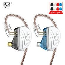 Kz AS16 8BA In Ear Oortelefoon Balanced Armature Headset Hoge Geluidskwaliteit Monitor Hifi Koptelefoon Kz Zsx AS12 AS10 C16 CA16 C12 T4
