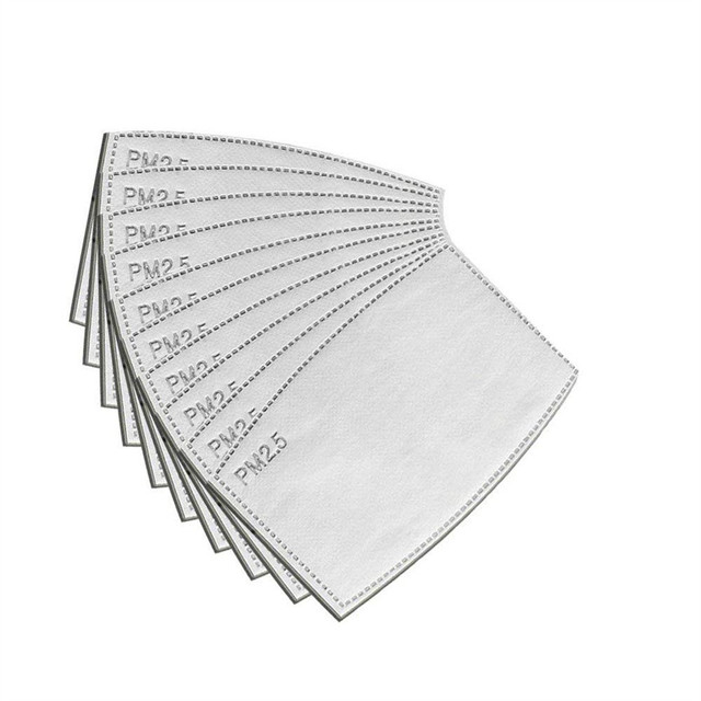 100PCS PM 2.5 Filter Mouth Paper Face Mouth Masks Dustproof Mask Protective Cover Masks Set Heath Care DHL/FEDEX Express 4