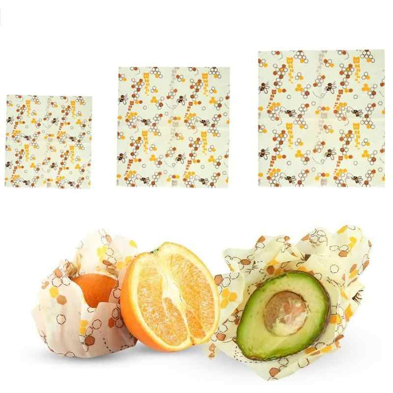 Reusable Silicone Food Wrapping Paper Seal Food Fresh Keeping Wrap Vacuum Food Wrap Beeswax Cloth Kitchen Tools