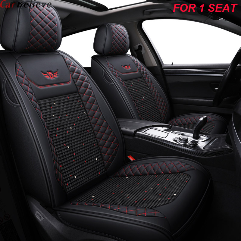 1 PCS leather car seat cover For <font><b>volvo</b></font> v50 v40 s40 v60 s80 xc90 2007 s60 <font><b>2012</b></font> <font><b>xc60</b></font> xc40 xc70 <font><b>accessories</b></font> seat covers image