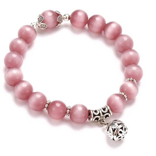 Классический Набор браслетов «Древо жизни» для женщин, многослойный винтажный браслет из натурального камня в виде листьев, браслеты и браслеты, ювелирные изделия, подарки - Окраска металла: 7632