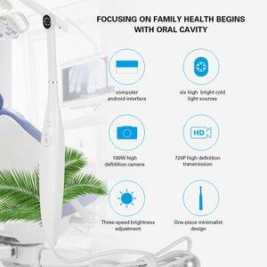 Image 4 - AZDENT diş ağız içi kamera 720P HD diş ayna led ışık Defidition kamera su geçirmez endoskop izleme muayene aracı