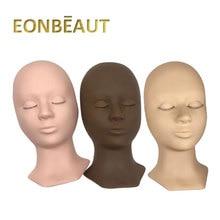 Training-Heads-Tool EONBEAUT Eyelash-Extensions Makeup Professional 1PCS Cosmetic-Model