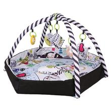 Baby Fitness Frame Play Mat Foldable Deformable Crawling Game Blanket Puzzle Multi-function fence Crawling Mat