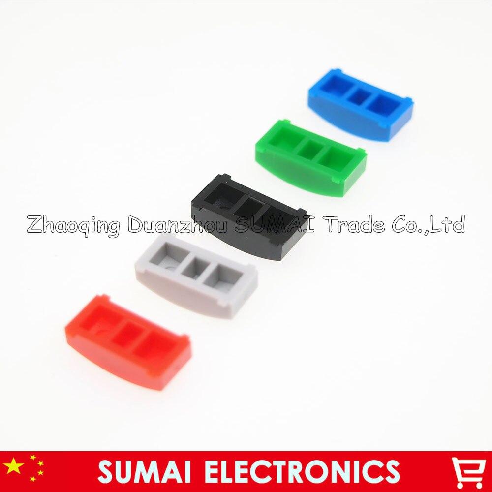 1000 PCS Tactile Push Button Switch Cap tact switch button Cap fit 7 7mm 8 8