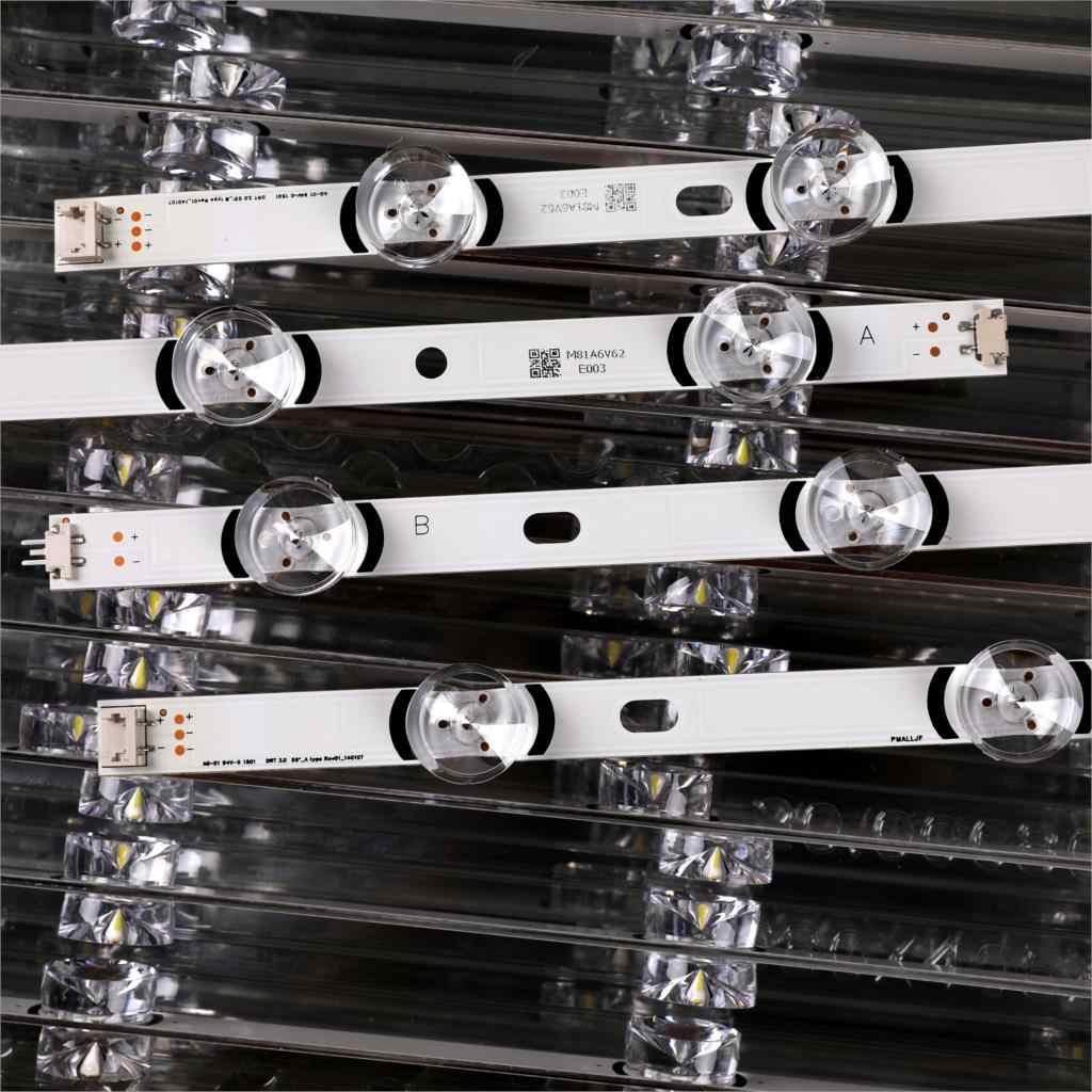 """Tira LED para LG Innotek DRT 3,0 55 """", tipo A/B Rev01 55LB561V 55LB652T LC550DUE LG55LF5950 55LY320C 55LB5700 55LF6500"""