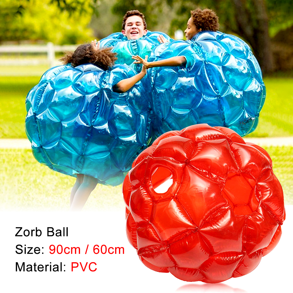 Outdoor Games Children's Inflatable Bubble PVC Zorb Ball, Inflable Sports Toys For Adult Party & School Activities, 60/90cm