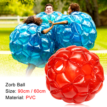 Outdoor Games Children's Inflatable Bubble PVC Zorb Ball, Inflable Sports Toys for Adult Party & School Activities, 60/90cm 0 8mm pvc 1 2m 1 5m 1 8m air bumper ball body zorb ball bubble football bubble soccer zorb ball on sale