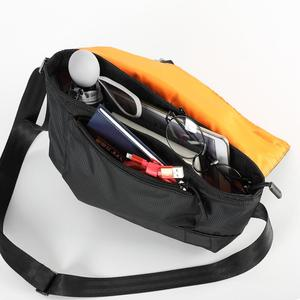 Image 2 - Tigernu Fashion RFID Chest Bag Water Resistant Sling Bag Male Travel Waterproof Crossbody Bags Satchel For Men back bag for boys
