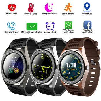Smart Watch Outdoor Sports Fitness Tracker Blood Pressure Heart Rate Support IOS Android System Waterproof Smart Watch