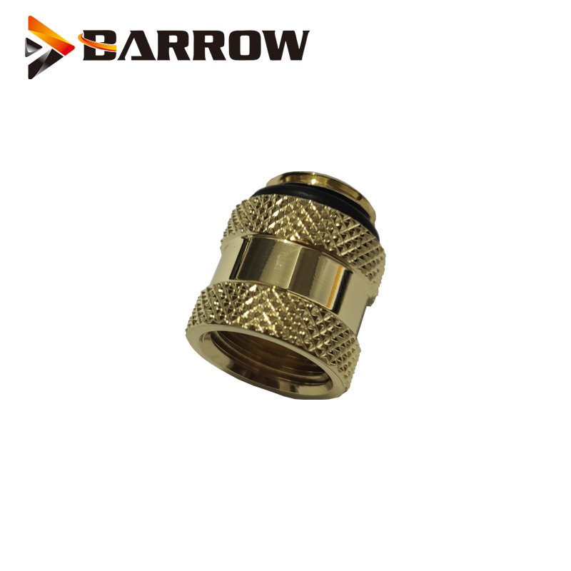 Купить с кэшбэком BARROW (Extend 15mm) Fitting G1/4'' M to F Extend Connect Adapter Male to Female Increase 15mm Length Connector Cooling System