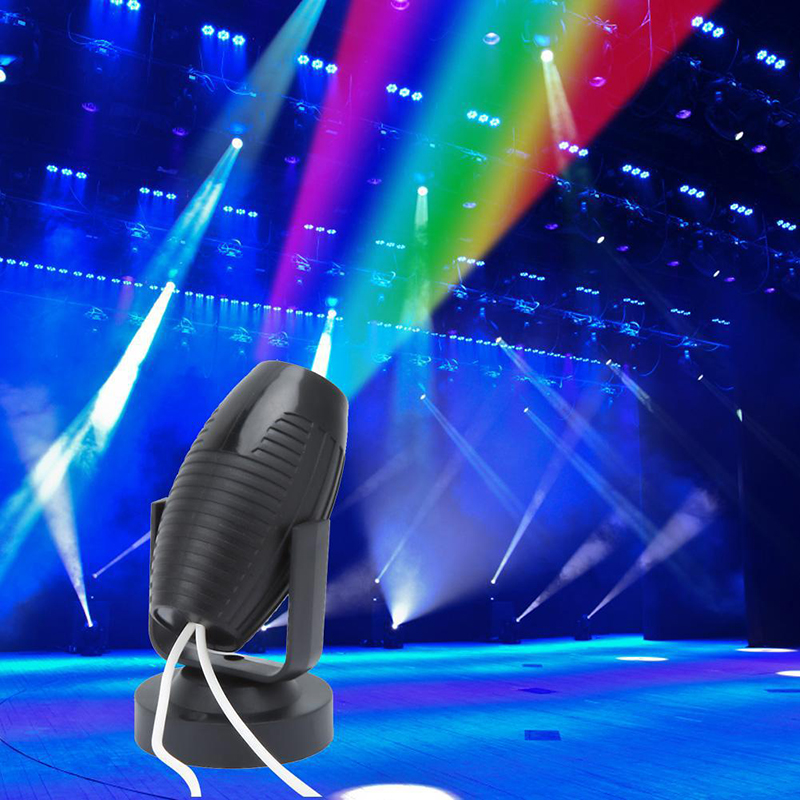 1W Mini Projector Spotlight Spot Beam Light Night Club DJ Disco Stage Lighting High Quality Small Spotlight