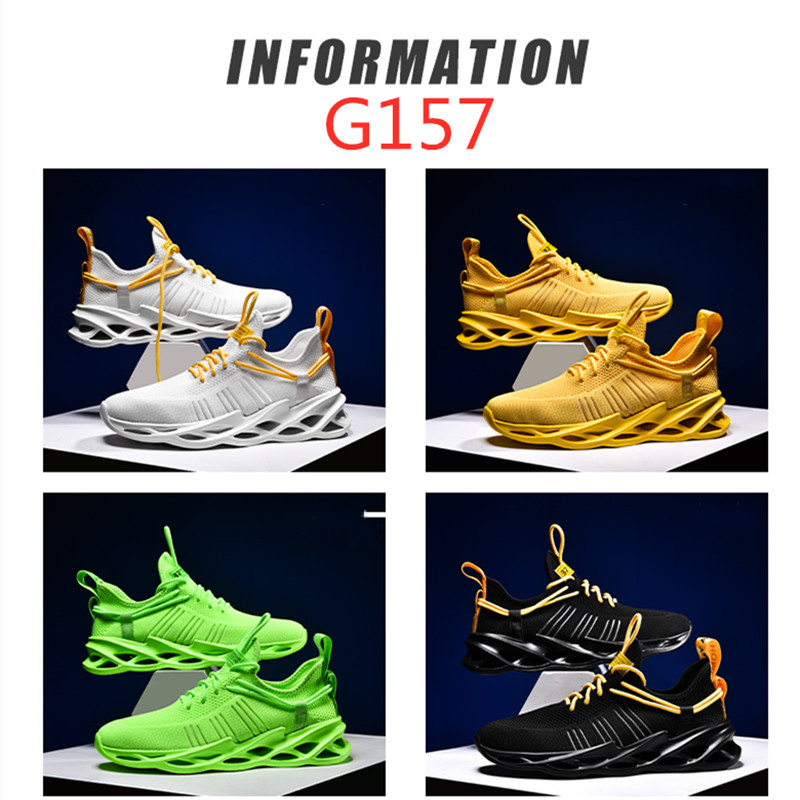 Image 4 - Man Blade Sneakers Lightweight Free Running For Men Jogging Walking Sport Shoes High quality Lace up Athletic Shoes ComfortableRunning Shoes   -