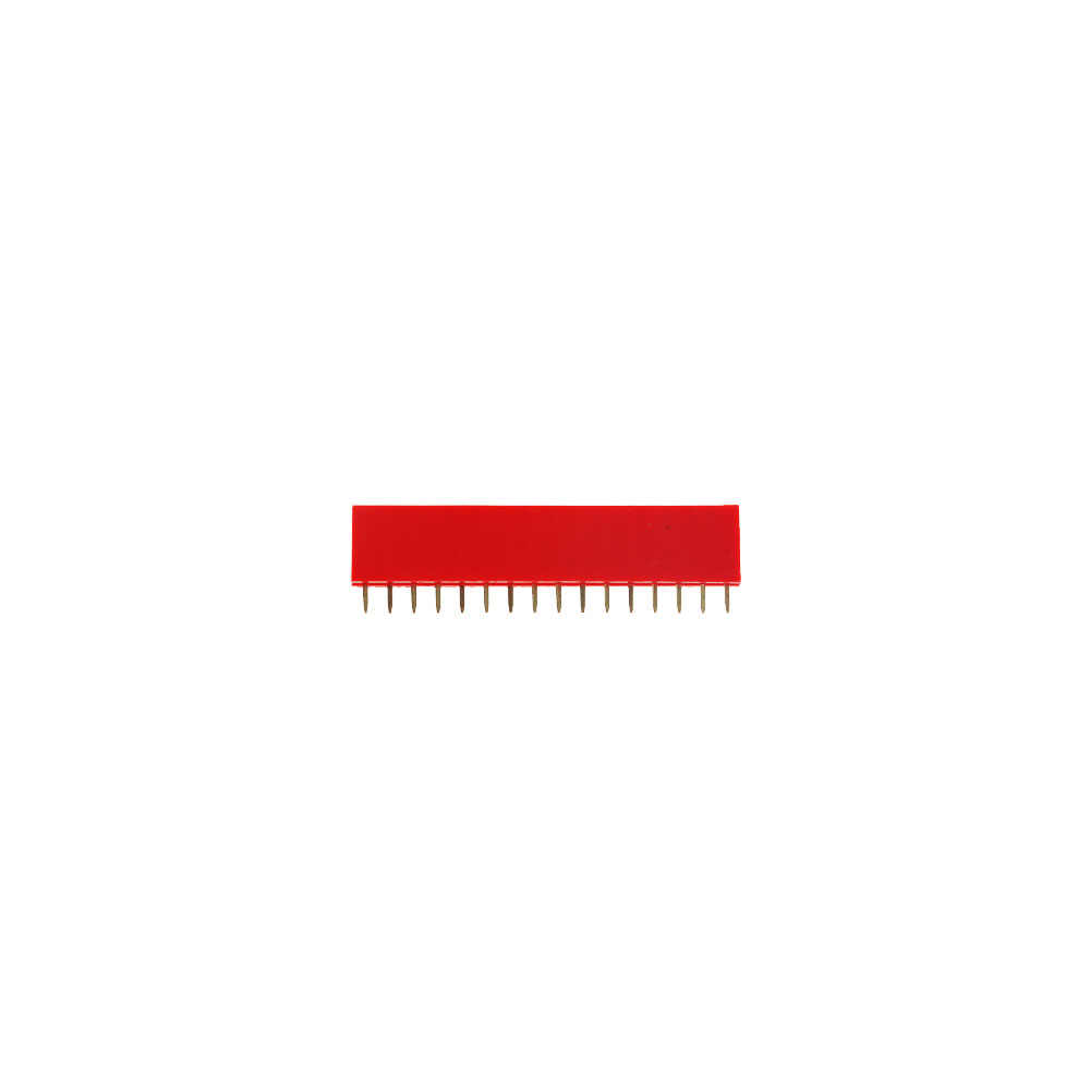 10 Chiếc 2.54 Mm Hàng Đơn Nữ PCB Bảng Pin Đầu Kết Nối Dây Pinheader 1X2 P 3 4 6 8 10 16 40P 1 Pin Màu Sắc Rực Rỡ Ổ Cắm