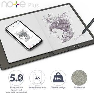 Многоразовый смарт-ноутбук XP-Pen Note Plus, флеш-память ErasableCloud для школы, офисные принадлежности, подключение через приложение