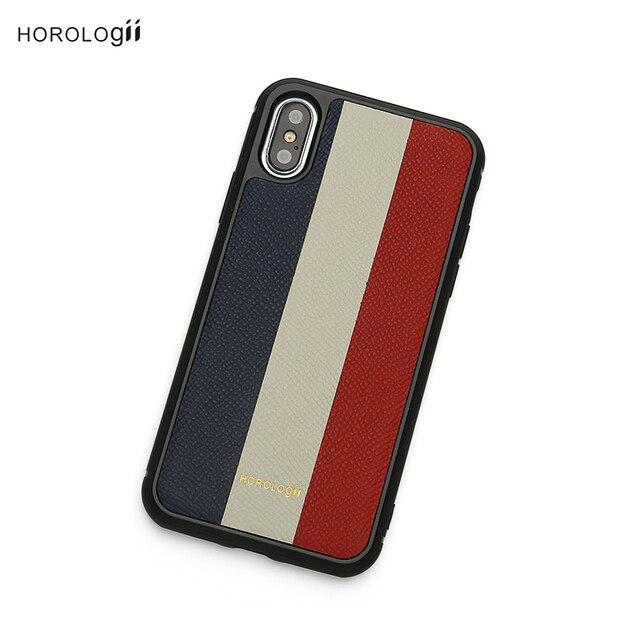 Horologii monogramme initiales lettres drapeau France Libre couleur téléphone portable pour iphone XS MAX 8 PLUS 11 Pro Max CAS dropship