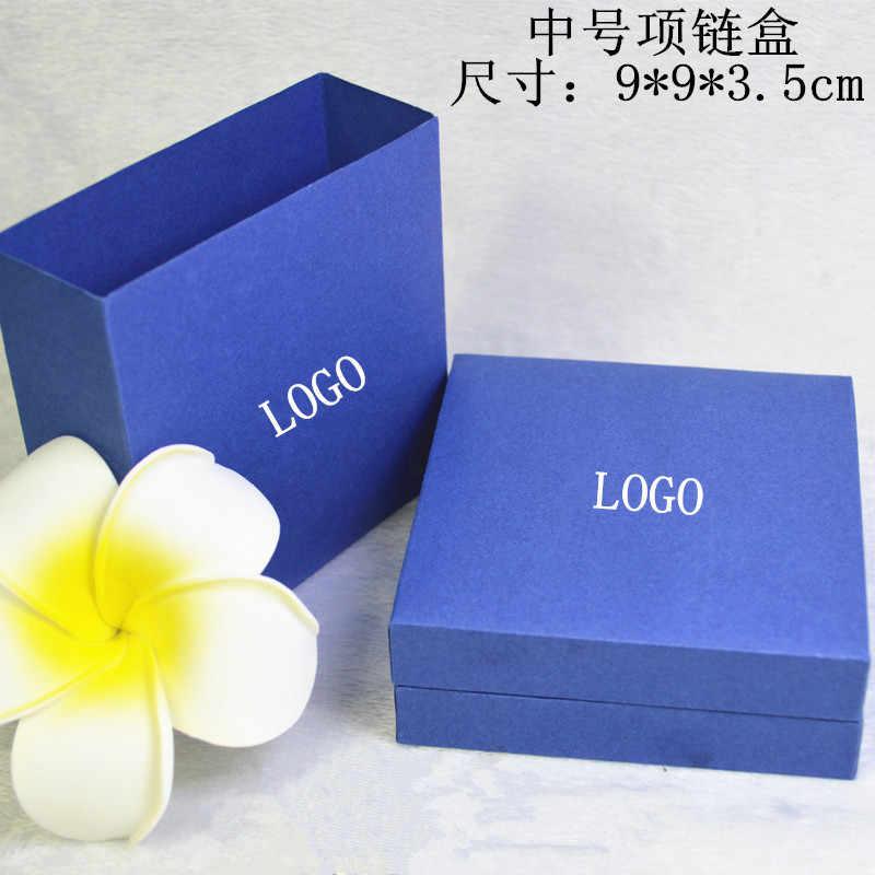 2018 exhibición de joyería tiempo limitado Venta de cristal de Swan azul Swan última moda joyería caja de cuentas caja colgante