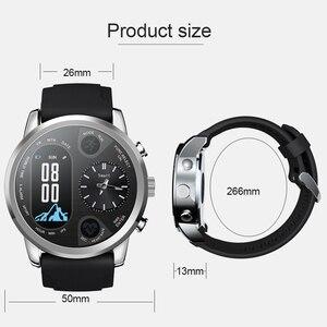 Image 5 - SYSOTORYU T3pro montre intelligente double fuseau horaire Sport hommes étanche Smartwatch fréquence cardiaque Bluetooth traqueur dactivité pour IOS Android
