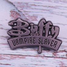Buffy-Pin esmaltado de The Vampire Slayer, para fans