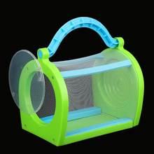 Gaiola de insetos portátil para uso ao ar livre, para borboletas, uso em dragonfly, crianças, ferramenta de educação científica para corajal, jardim
