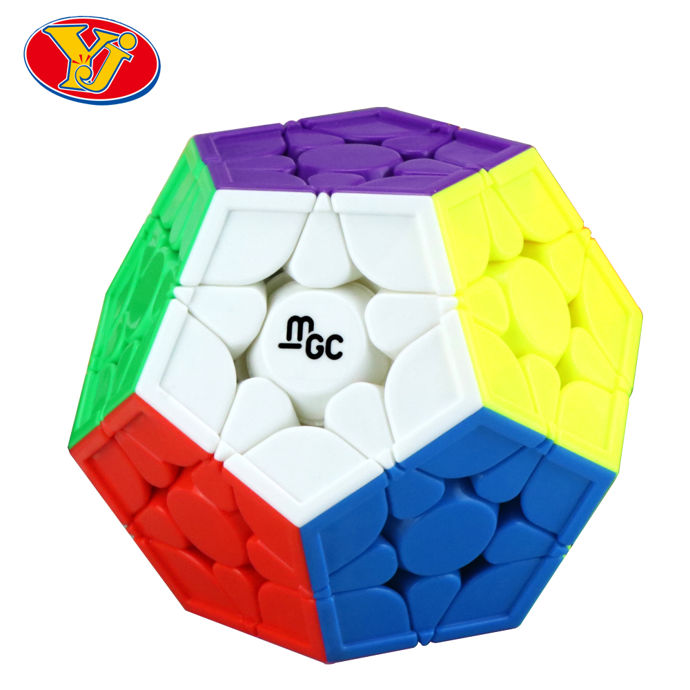YJ MGC 3x3 Megaminx Magnetic Cube Magic Cubo RuiHu Megaminx Stickerless YongJun Speed Cube Educational Toys Puzzle