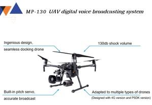 Image 3 - Per DJI Drone Sistema di Altoparlanti MP 130 UAV Per DJI Matrice 200 Serie Sistema di Trasmissione Vocale Digitale