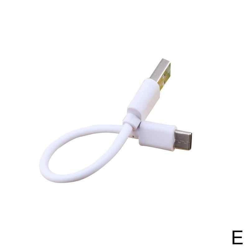 15 ซม.สาย Micro USB Type-C Fast Data SYNC Huawei สำหรับ iPhone สายไฟ 8Pin โทรศัพท์ Samsung Xiaomi สำหรับ Android Charger CA E6C2
