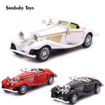 128 500k aluminiowy zabawkowy samochodzik prawdziwy klasyczny retro klasyczny samochód stopu model chłopiec zbierać samochód mini samochód zabawka dla dzieci dla dzieci prezent