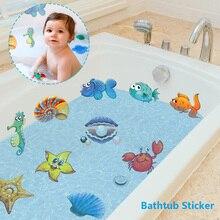 10/20Pcs Bath Sticker nemo Fish Sea Cartoon Wall For Shower Children Kids Baby bath Bathtub Tile Bathroom