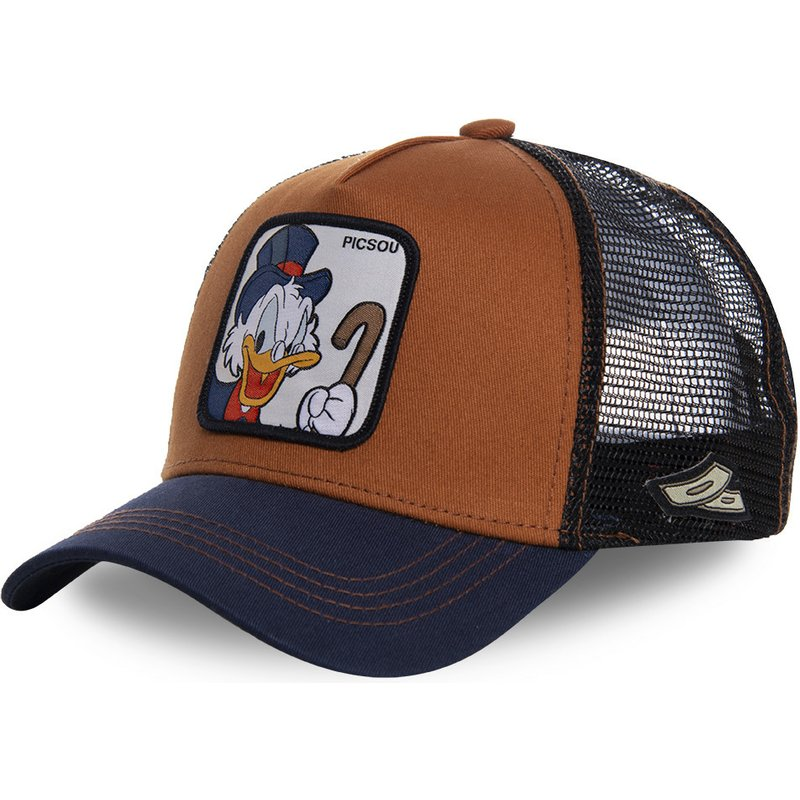capslab-scrooge-mcduck-scr1-disney-brown-and-navy-blue-trucker-hat1